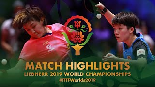 【Video】CHEN Meng VS DOO Hoi Kem, 2019 World Table Tennis Championships quarter finals