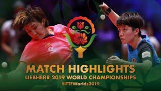 【Video】CHEN Meng VS DOO Hoi Kem, 2019 World Table Tennis Championships quarter finals
