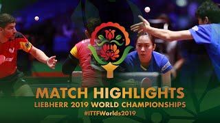 【Video】FRANZISKA Patrick・SOLJA Petrissa VS MAHARU Yoshimura・KASUMI Ishikawa, 2019 World Table Tennis Championships semifinal