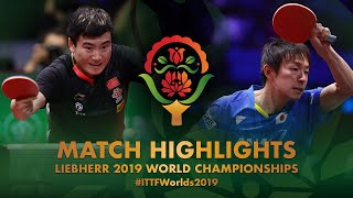 【Video】KOKI Niwa VS LIANG Jingkun, 2019 World Table Tennis Championships quarter finals