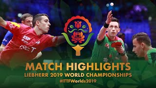 【Video】APOLONIA Tiago・MONTEIRO Joao VS IONESCU Ovidiu・ROBLES Alvaro, 2019 World Table Tennis Championships semifinal