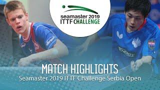 【Video】YUMA Tsuboi VS TEPIC Pero, 2019 ITTF Challenge Serbia Open