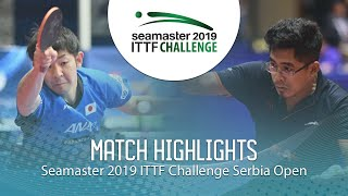 【Video】ASUKA Machi VS BORO Birdie 2019 ITTF Challenge Serbia Open