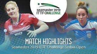 【Video】PETEK Petra VS LUPULESKU Izabela, 2019 ITTF Challenge Serbia Open best 64