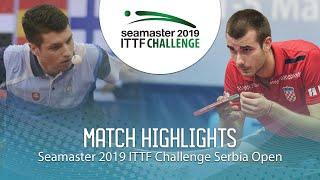 【Video】ARTEMENKO Nikita VS PUCAR Tomislav, 2019 ITTF Challenge Serbia Open best 64