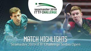 【Video】LAMBIET Florent VS SZUDI Adam, 2019 ITTF Challenge Serbia Open best 32
