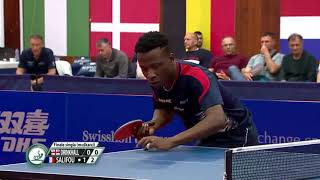 【Video】DRINKHALL Paul VS SALIFOU Abdel-Kader, 2019 ITTF Challenge Serbia Open finals