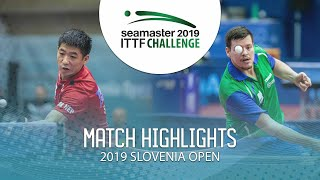 【Video】WEI Shihao VS NOVAK Andraz, 2019 ITTF Challenge Slovenia Open