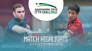 【Video】SGOUROPOULOS Ioannis VS WEI Shihao, 2019 ITTF Challenge Slovenia Open