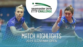 【Video】DIACONU Adina VS LIU Qi, 2019 ITTF Challenge Slovenia Open