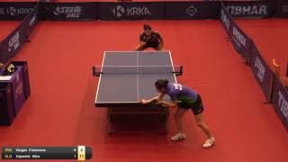 【Video】VARGAS Francesca VS ZUPANCIC Nina 2019 ITTF Challenge Slovenia Open