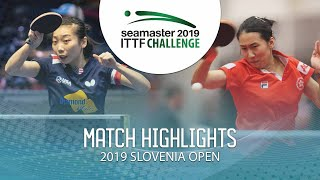 【Video】WU Yue VS ZHU Chengzhu, 2019 ITTF Challenge Slovenia Open best 64