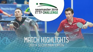 【Video】PISTEJ Lubomir VS GLOD Eric, 2019 ITTF Challenge Slovenia Open best 64