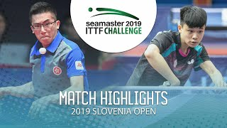 【Video】LAM Siu Hang VS FENG Yi-Hsin, 2019 ITTF Challenge Slovenia Open best 64