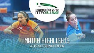 【Video】DIAZ Adriana VS CIOBANU Irina, 2019 ITTF Challenge Slovenia Open best 32