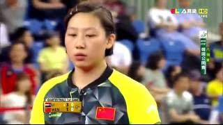 【Video】LI Jie VS WEN Jia, 2016 Korea Open  quarter finals