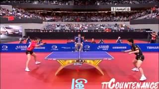【Video】ZHANG Jike VS Wang Liqin, 2011 World Table Tennis Championships quarter finals