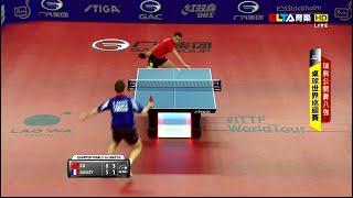【Video】XU Xin VS GAUZY Simon, 2014  Swedish Open  quarter finals