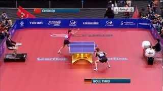 【Video】BOLL Timo VS ChenQi, 2011 World Table Tennis Championships quarter finals