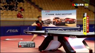 【Video】KASUMI Ishikawa VS Zhu Yuling, 2014  Swedish Open  quarter finals