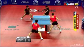 【Video】WANG Hao・YAN An VS FAN Zhendong・XU Xin, 2014  Swedish Open  finals