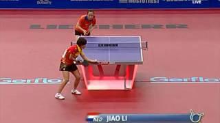 【Video】LI Jiao VS LIU Shiwen, QOROS 2015 World Table Tennis Championships best 32