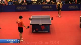 【Video】TAO Wenzhang VS JIN Ueda, 2014 US Open '14 finals