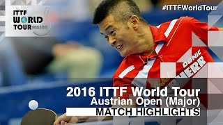 【Video】MAHARU Yoshimura VS CHEN Weixing, 2016 Hybiome Austrian Open  best 32