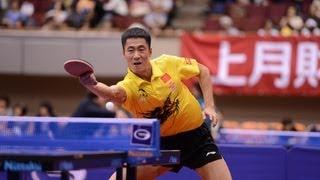 【Video】KENJI Matsudaira VS Wang Liqin, 2013  Japan Open, Super Series best 32