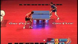 【Video】Wang Liqin VS RYU Seungmin, 2006 Volkswagen Open  quarter finals