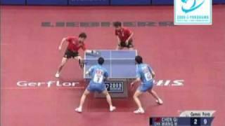 【Video】ChenQi・WANG Hao VS MA Long・XU Xin, H.I.S. 2009 World Table Tennis Championships finals