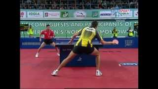 【Video】ChenQi VS SAMSONOV Vladimir, LIEBHERR 2009 Men's World Cup finals