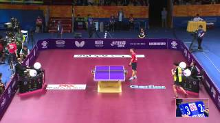 【Video】YUTO Muramatsu VS CHEN Weixing, QOROS 2015 World Table Tennis Championships best 64