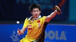 【Video】ZHOU Yu VS TOKIC Bojan, 2014  Kuwait Open  best 32