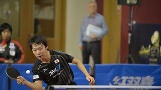 【Video】MA Long VS MASATO Shiono, 2014  Qatar Open  best 32