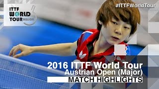 【Video】MISAKI Morizono VS CHOI Hyojoo, 2016 Hybiome Austrian Open  best 16