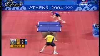 【Video】WALDNER Jan-Ove VS RYU Seungmin, 2004 Olympic Games semifinal
