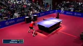 【Video】LI Jie VS ZHENG Jiaqi, 2014  Korea Open