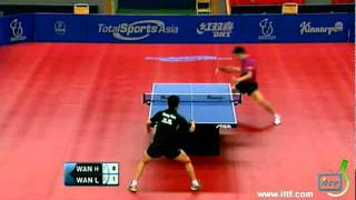 【Video】WANG Hao VS Wang Liqin, 2011 Swedish Open - ITTF Pro Tour semifinal