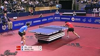 【Video】WANG Hao VS MA Long, 2010 German Open - ITTF Pro Tour finals