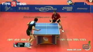 【Video】OH Sangeun VS SAMSONOV Vladimir, 2011 Spanish Open - ITTF Pro Tour finals