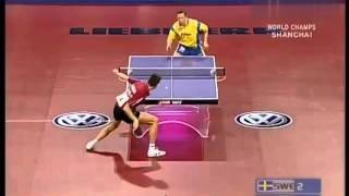 【Video】SAMSONOV Vladimir VS WALDNER Jan-Ove, 2005 World Table Tennis Championships best 32