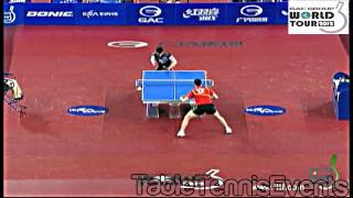 【Video】XU Xin VS KAZUHIRO Chan, 2012  KRA Korea Open semifinal