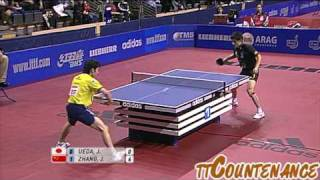 【Video】ZHANG Jike VS JIN Ueda, 2010 German Open - ITTF Pro Tour quarter finals