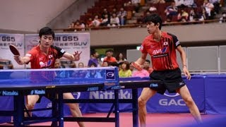 【Video】KENTA Matsudaira・KOKI Niwa VS JIN Ueda・MAHARU Yoshimura, 2013  Japan Open, Super Series finals