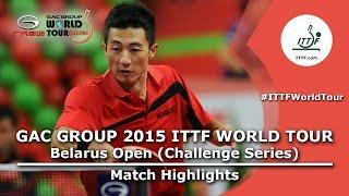【Video】TAKUYA Jin VS LI Ping, 2015  Belarus Open  semifinal