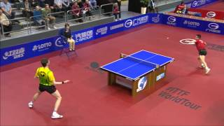 【Video】WANG Hao VS MENGEL Steffen, 2014  German Open  best 16