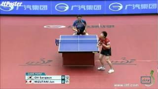 【Video】JUN Mizutani VS OH Sangeun, 2012  Japan Open finals