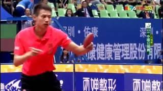 【Video】FAN Zhendong VS ZHOU Yu, 2016 SheSays China Open  quarter finals