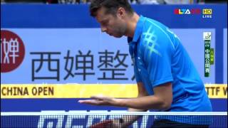 【Video】SAMSONOV Vladimir VS MA Long, 2016 SheSays China Open  quarter finals